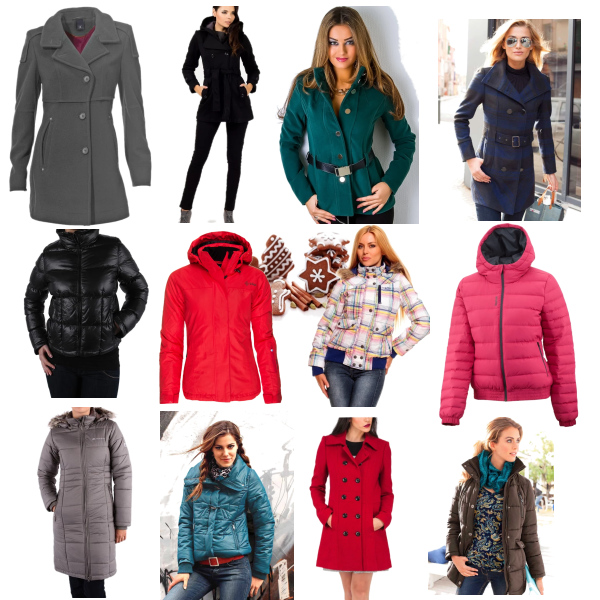 Zimní bundy/kabáty