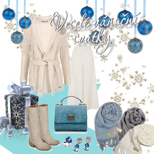 Modrá a bílá