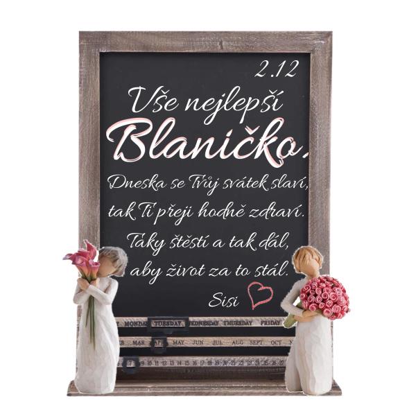 Dnes slaví svátek Blanka