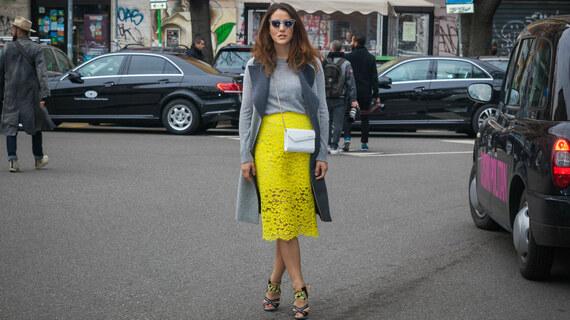 Okouzlující midi sukně