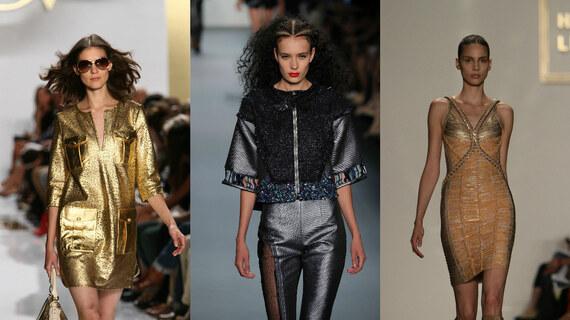 Kolekce Nastartujte víkend v metalických barvách! od Lili - Fashion Editor Glami