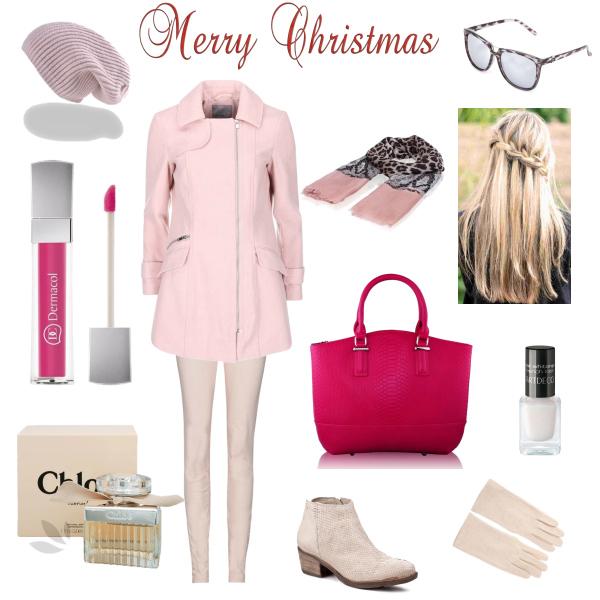 Vánoce v růžové