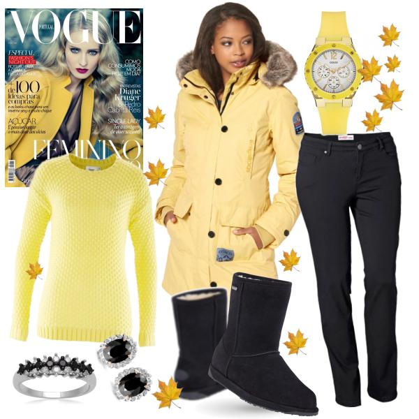 Žluto-černá krása :)