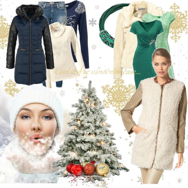 Chci být krásná v každém okamžiku! Vánoční čas v módním cool stylu.