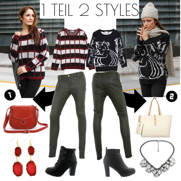 1 Teil - 2 Styles