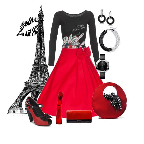 černá a červená