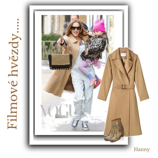 Filmové hvězdy,rády nosí kabáty i ve všední dny....