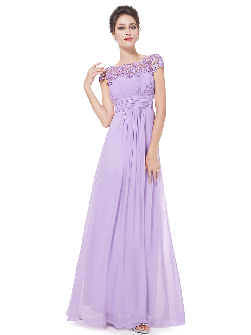 Ever Pretty krajkové šaty společenské fialové 9993. 1 d75b4948a3