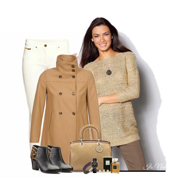 Camel kabátek