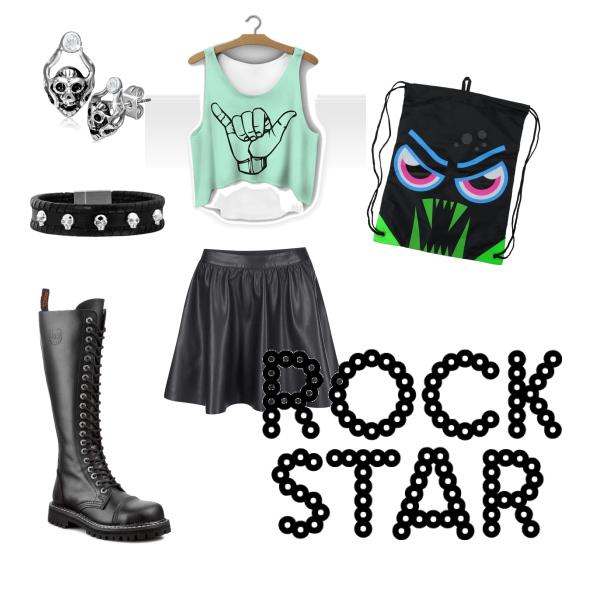 Na rockový koncert