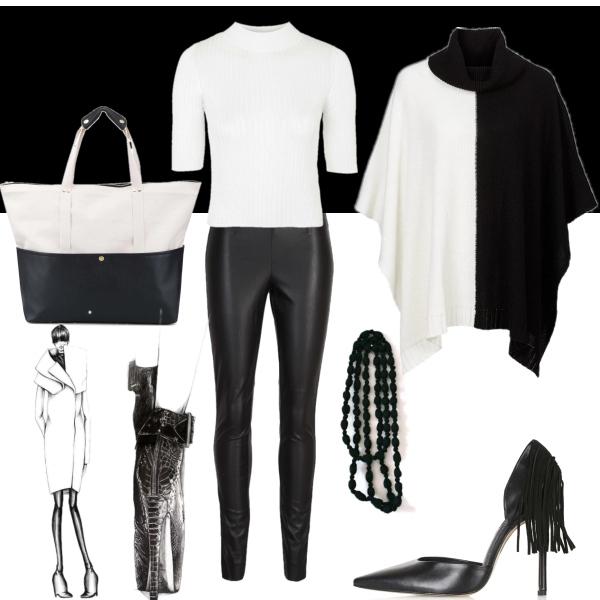 černá-bílá