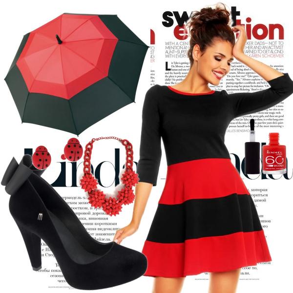 červená do deště