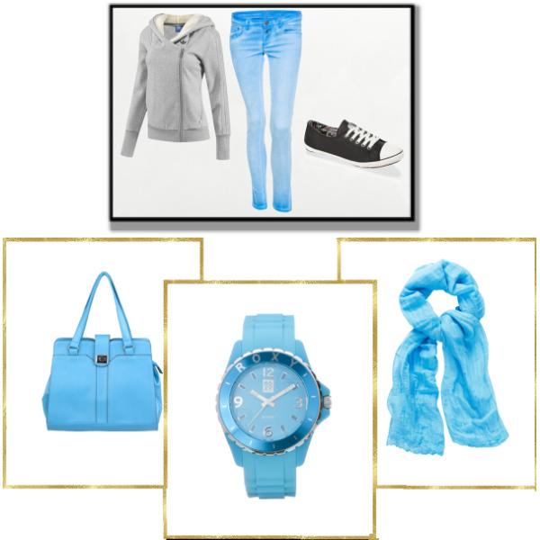 Do školy na modrý styl