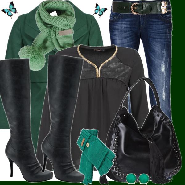 Zelený set
