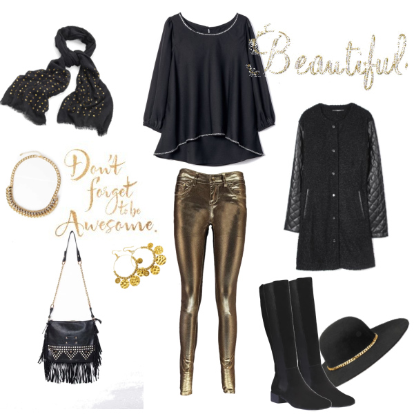 Black and Gold Style
