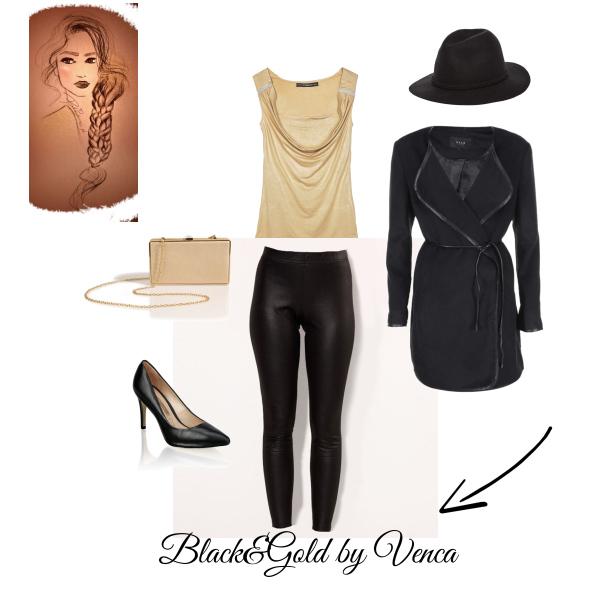 Black&Gold by Venca