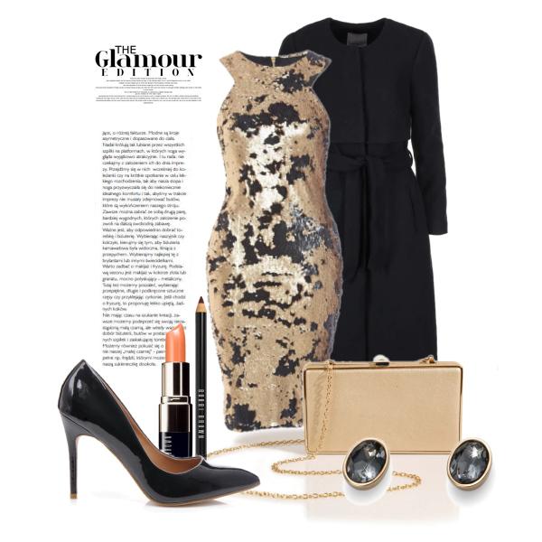 Glamour gold/black edition.