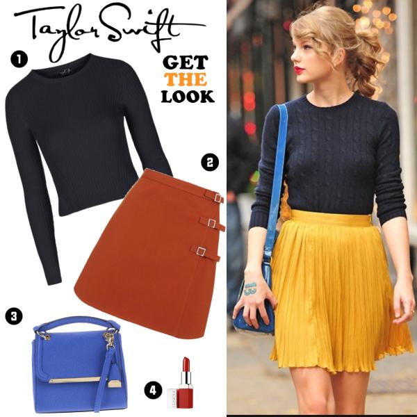 Podle celebrit: Taylor Swift