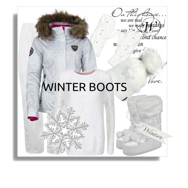 Outfit na zimu.