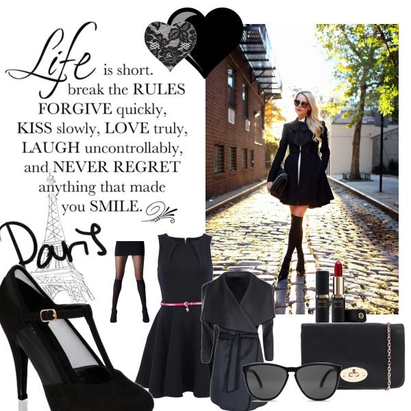 *elegant black*