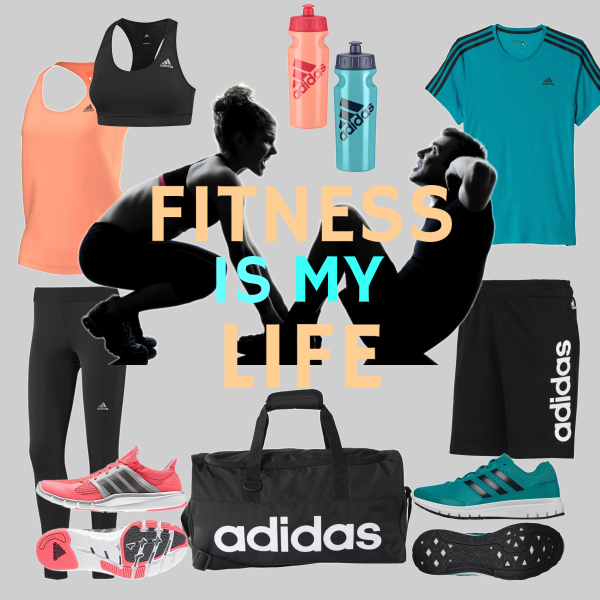 Fitness is my life.