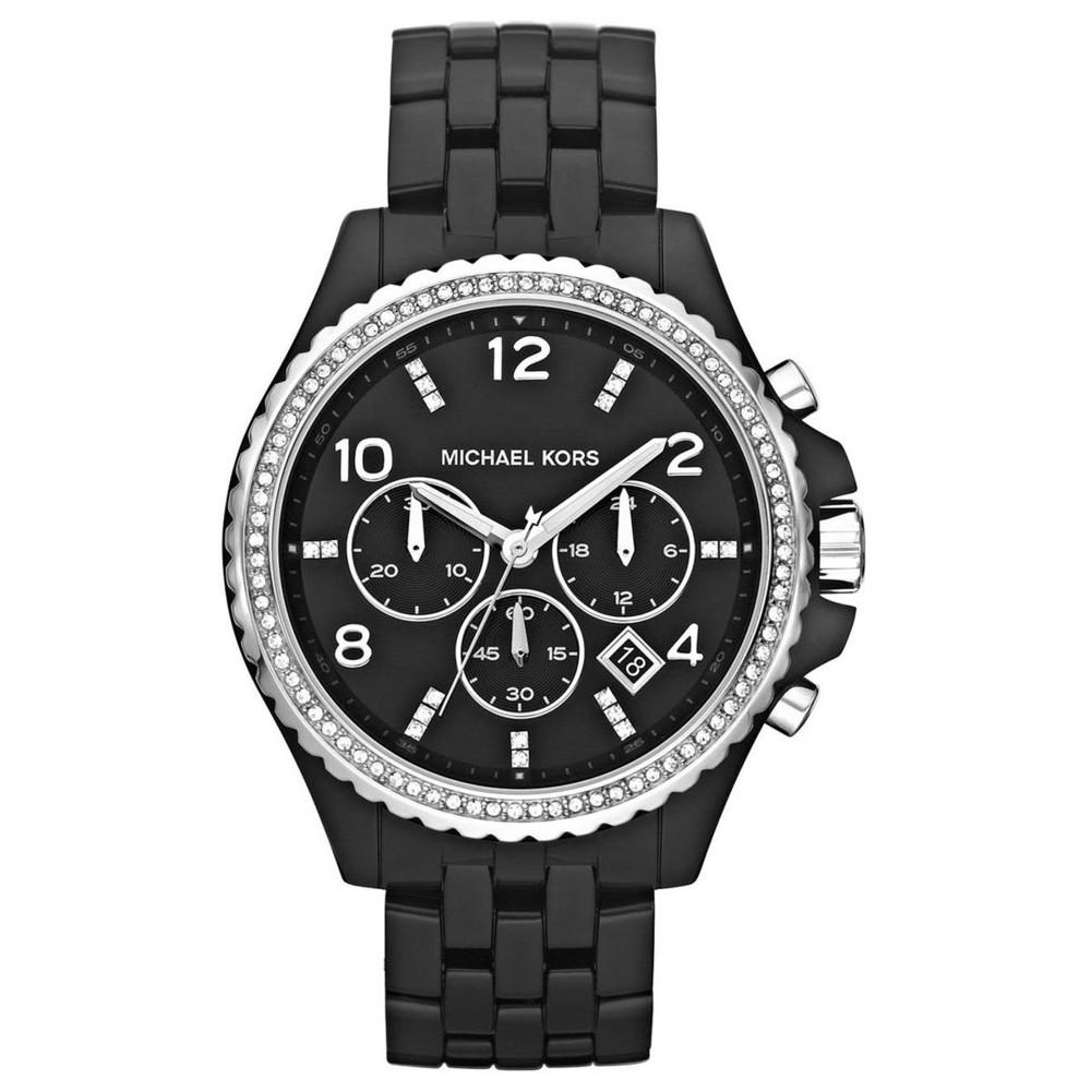 ... dámské hodinky Michael Kors. -9%. Černé ... e97672544b