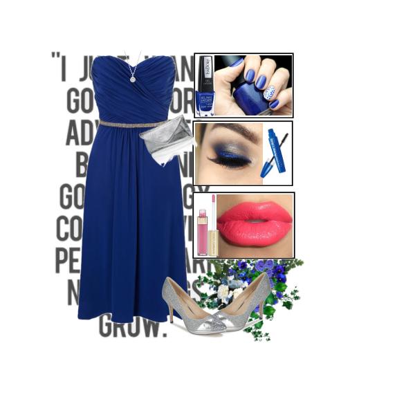 Dark blue elegance