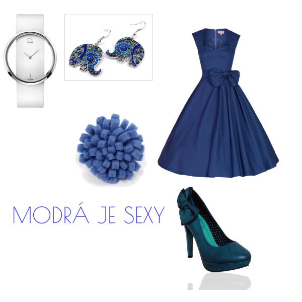 modrá princezna