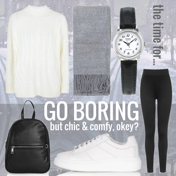 Maybe BORING maybe CUTE #it'stimefor...
