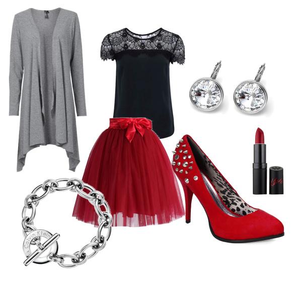 elegance v šedé
