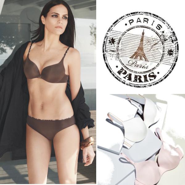 Každodenní krása s pohodlí s francouzským spodním prádlem Chantelle...