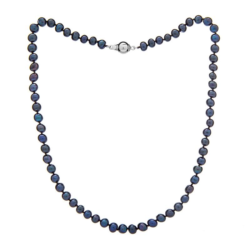ab1de025f Buka Jewelry Perlový náhrdelník Mutiara 5,5 AA černý - Glami.cz