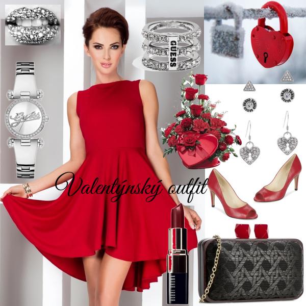 Valentýnský outfit !