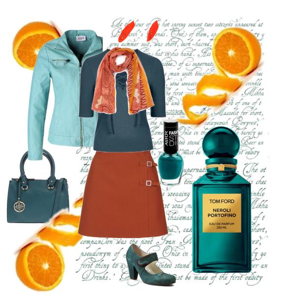 Pomeranč a petrolej