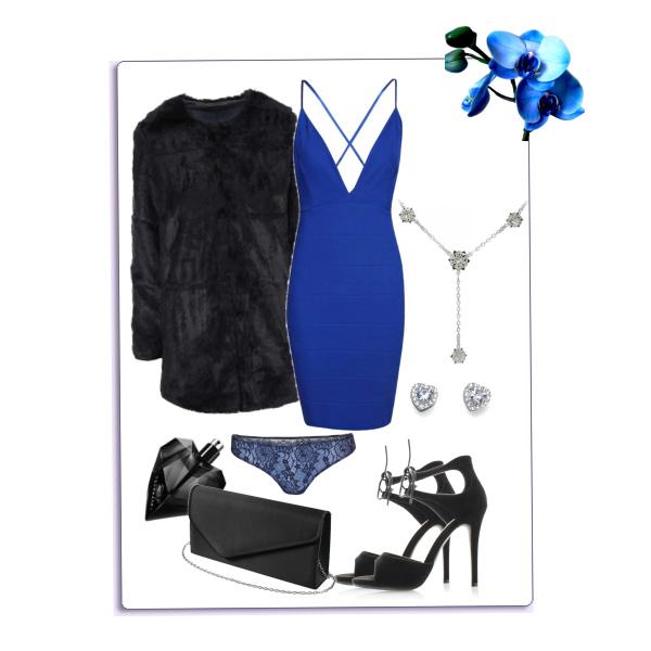 Sexy Valentýn v modré