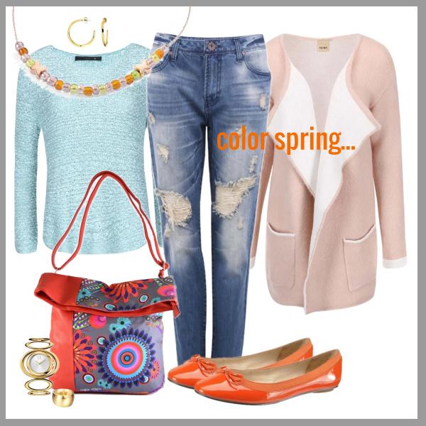 Barevné jaro s veselou kabelkou !