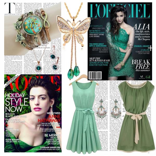 Trendfarbe: Grün