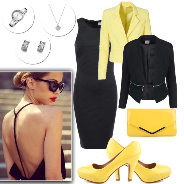 Černo žlutá