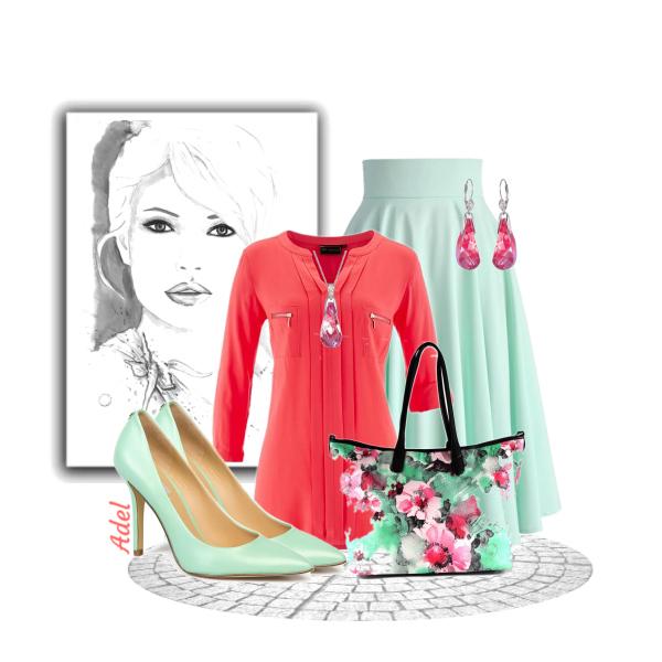 jarní rozkvetlá kabelka