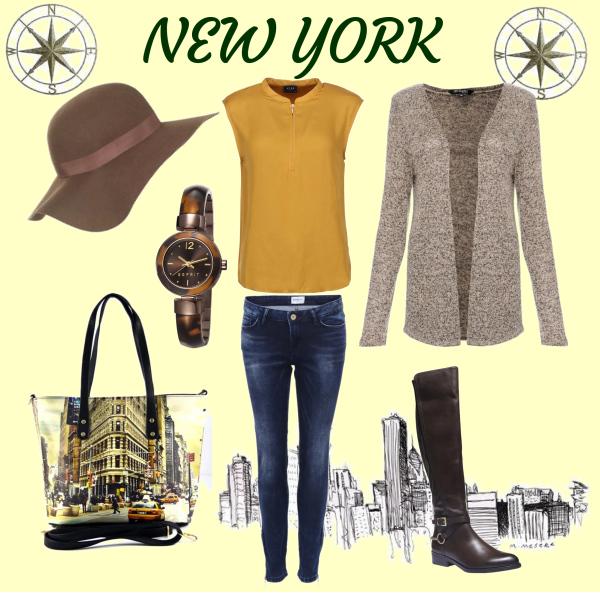 Jarní-podzimní outfit