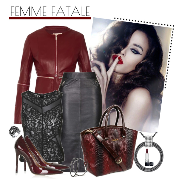 Inspirace: Femme Fatale