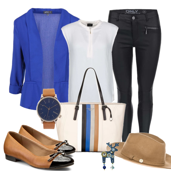 Must-have: Kalhoty v koženém vzhledu