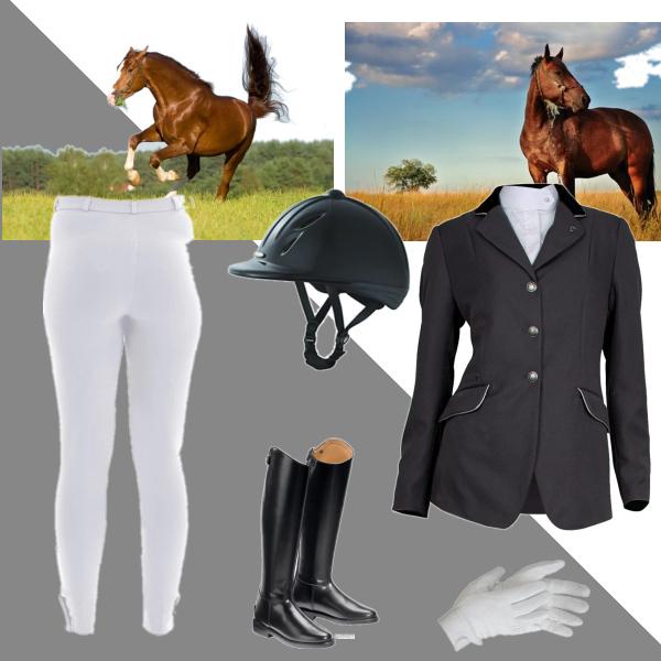 Jezdecký outfit