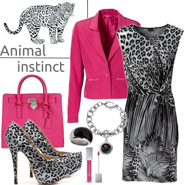 Zvířecí vzory - Animal instinct
