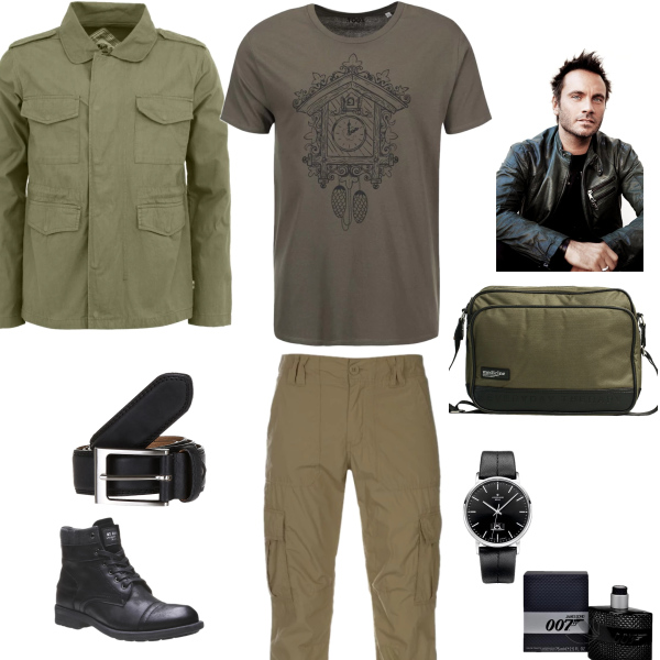 Muž - army styl