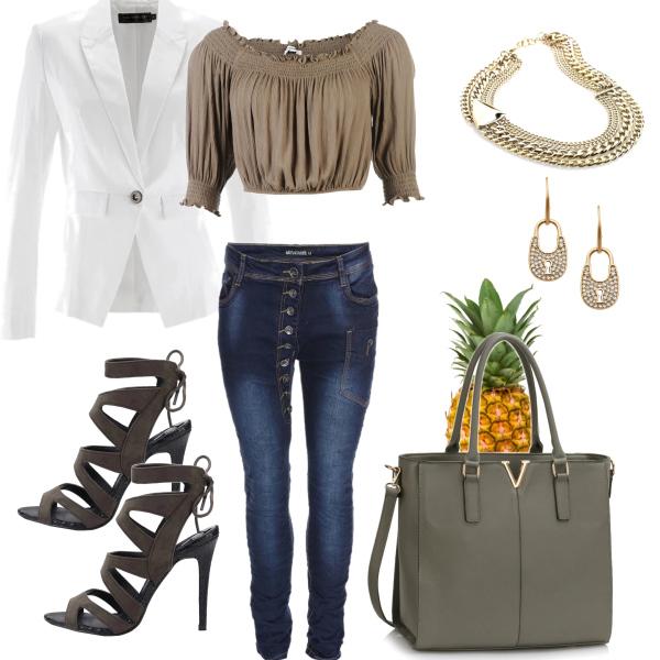 ananas v kabelce