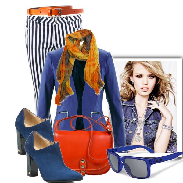 Outfit podle zásad colorblockingu