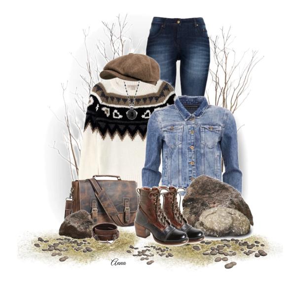 Džínový outfit