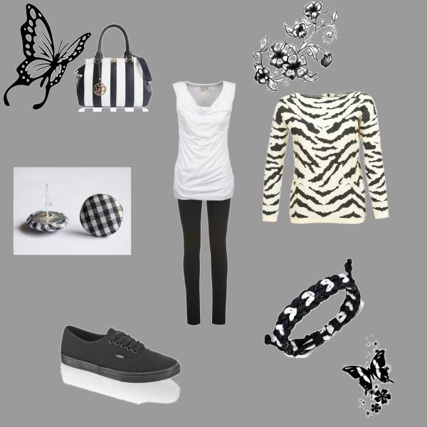 Black, white and dream