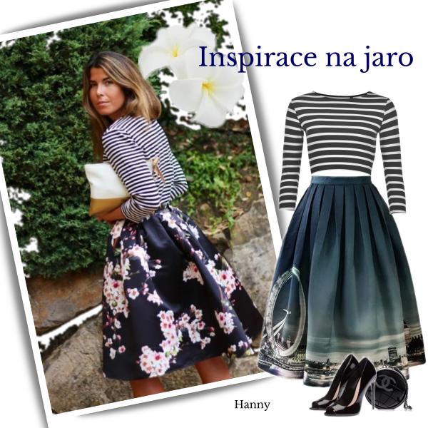 Inspirace na jaro...sukně..